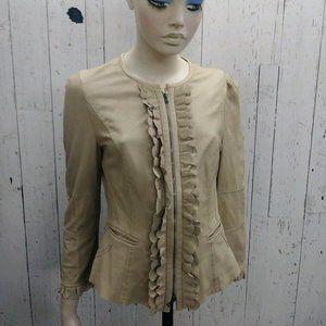 Marc Cain Lamb Leather Jacket